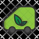 Eco Car Eco Energy Icon