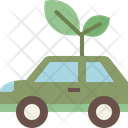 Eco Car Car Transport Icon
