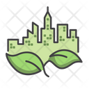 Eco City Ecology Eco Icon