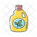 Eco Cleaning Product Icon