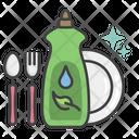 Eco Dishwashing Icon