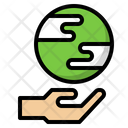 Earth Plant Sprout Icon