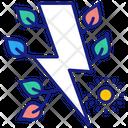 Eco Electricity Icon