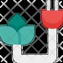 Eco Energy Power Icon