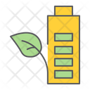 Eco Battery Leaf Icon