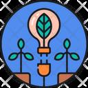 Eco Energy Clean Energy Green Energy Icon