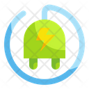 Eco Energy Energy Electricity Icon