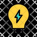 Eco Energy Bulb Light Icon