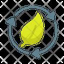 Eco Energy Eco Friendly Icon