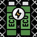 Eco Energy Eco Battery Power Battery Icon