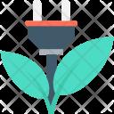 Eco Power Energy Icon