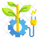 Eco Energy Innovation Eco Energy Process Technology Icon