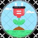Eco Energy Plant Icon