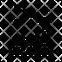Fill Glyph In Black Color Icon