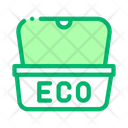 Eco Food Package Icon