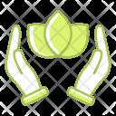 Ecofriendly Guardar Leaf Icon