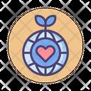 Eco Friendly Enivroment Earth Icon