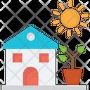 Eco Friendly Eco House Ecology Icon