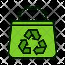 Eco friendly bag Icon