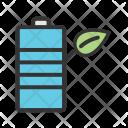 Eco friendly battery Icon