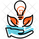 Eco Friendly Business Idea Eco Friendly Business Business Start Icon