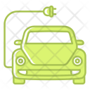 Battery Car Charging Icon