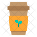 Coffee Cup Ecology Hot Drink Icon