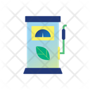 Eco Friendly Gas Pump Icon