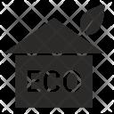 Eco friendly home Icon