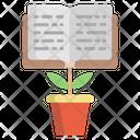 Eco Friendly Study Icon