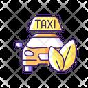 Eco Friendly Taxi Eco Friendly Icon