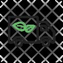 Eco Friendly Truck Icon