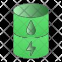 Eco Fuel Energy Icon