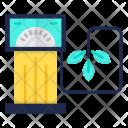 Eco Fuel Plant Icon