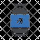 Gas Fuel Cylinder Icon