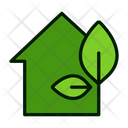Eco Home Eco House Cool House Icon