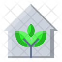 Green Home House Icon
