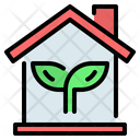 Home House Eco Icon