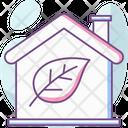 Eco Home House Leaf Icon