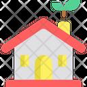 Eco Home Smart House House Icon