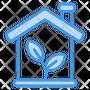 Eco Home Eco House Ecology Icon