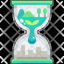 Eco Hourglass Icon