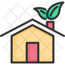 House Green Nature Icon