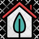 Eco House Building Icon