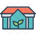Eco House House Green Icon