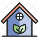 Eco House Green House Ecology Icon