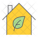 Eco House Home Icon