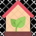 Eco House Ecology Icon