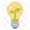 Eco Idea Eco Innovation Eco Light Icon