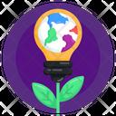 Environmental Idea Nature Idea Eco Idea Icon